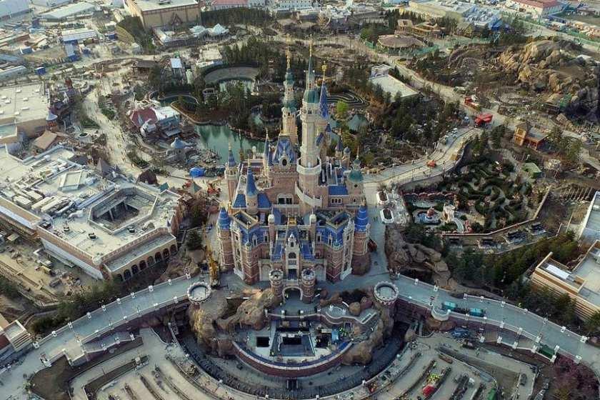 چین بیشترین پارک های موضوعی جهان را دارد