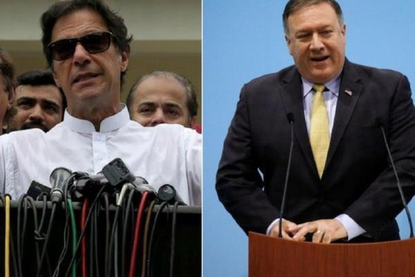 مایک پمپئو با نخست وزیر جدید پاکستان دیدار می نماید