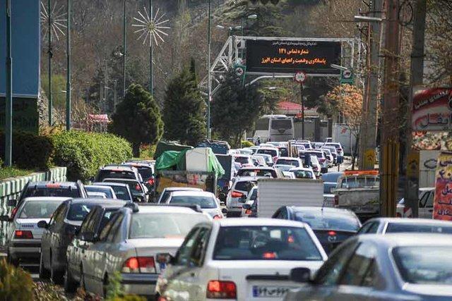 هر ساعت 850 خودرو وارد جاده چالوس می گردد