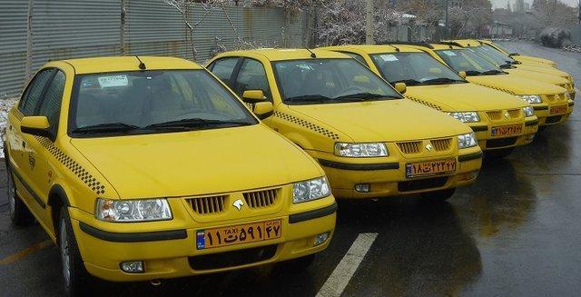 علل تجمع رانندگان تاکسی در خرم آباد