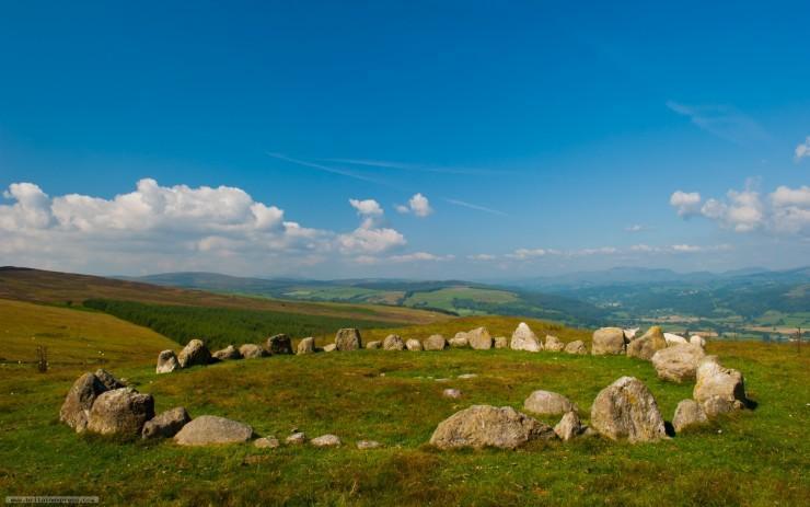 سنگهای شگفت انگیز در اطراف جزایر بریتانیا