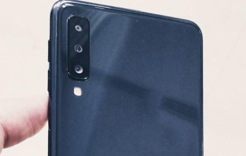 اولین تصاویر از Galaxy A7 2018 منتشر شد