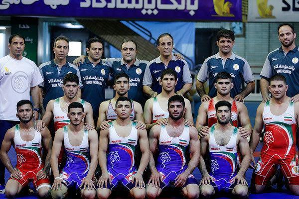 تیم کشتی آزاد جوانان ایران بر سکوی سوم دنیا ایستاد