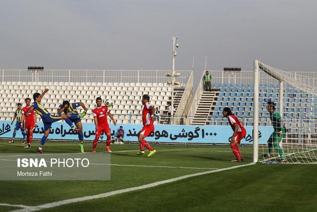 لیگ دسته یک فوتبال ، تساوی گل گهر سیرجان و اکسین البرز در هفته نهم