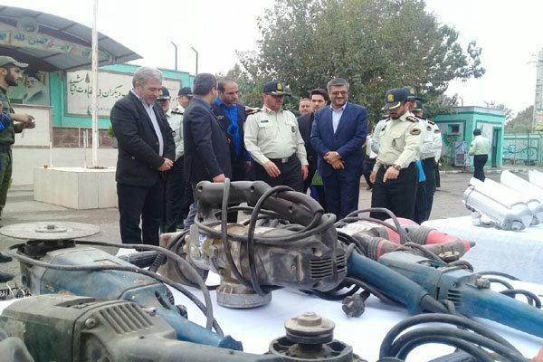 اجرا طرح ارتقا امنیت در بزرگراه در محور امام رضا(ع)