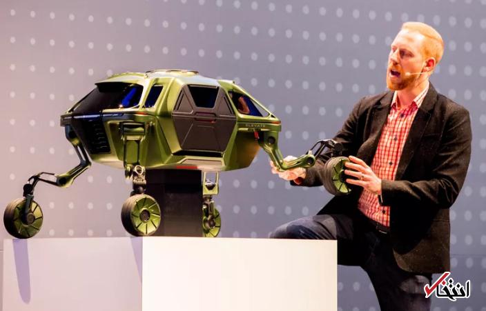 هیوندای از طرح مفهومی عجیب ترین خودرو روباتیک سال رونمایی کرد
