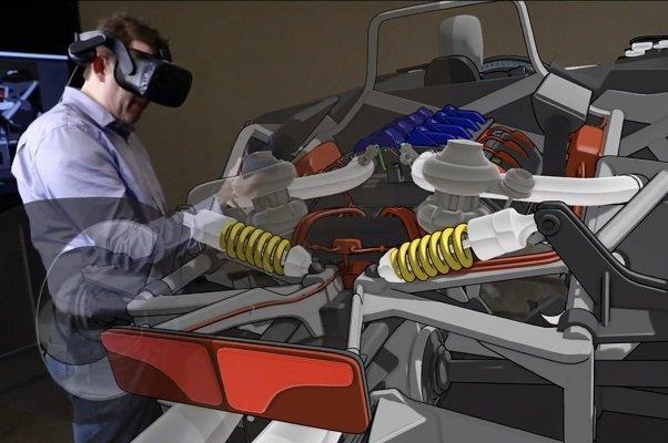 فورد با فناوری واقعیت مجازی خودرو طراحی می نماید