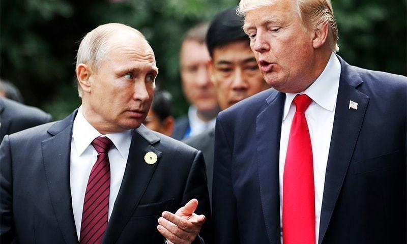 پاس گل ترامپ به پوتین برای آغاز جنگ سرد