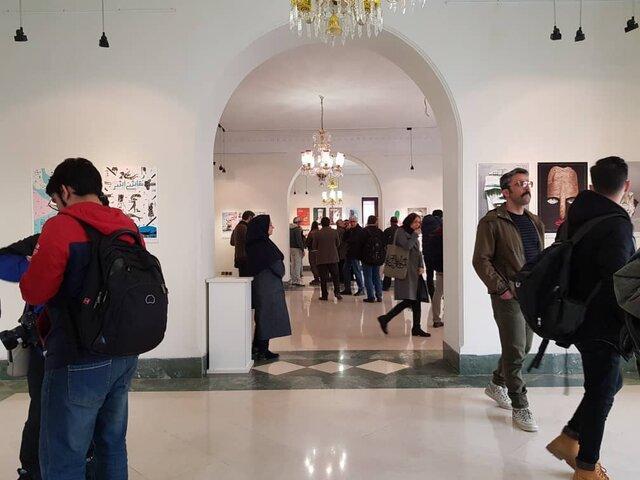 افتتاح نمایشگاه پوستر و عکس جشنواره تئاتر فجر