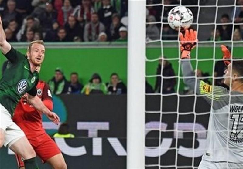 اینتراخت فرانکفورت مدعیان حضور در لیگ قهرمانان اروپا را امیدوار کرد