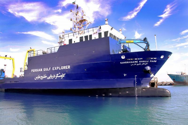 شروع پنجمین گشت کاوشگر خلیج فارس در آب های جنوب کشور
