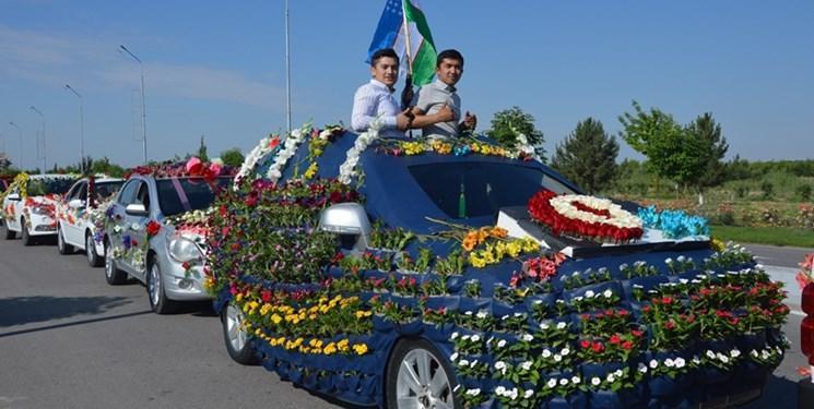 برگزاری پنجاه و نهمین نمایشگاه بین المللی گل در ازبکستان