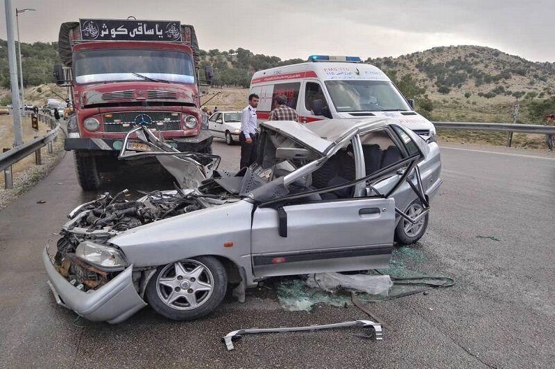 خبرنگاران تصادف مرگبار در جاده یاسوج به اصفهان 2 کشته و 2 مصدوم در پی داشت