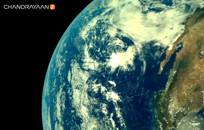 فضاپیمای چاندرایان 2 مدار زمین را به مقصد ماه ترک کرد