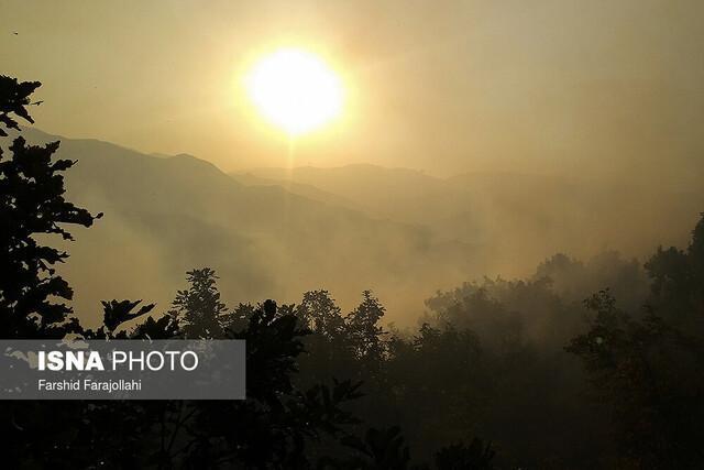 آتش سوزی منطقه حفاظت شده دیل گچساران مهار شد