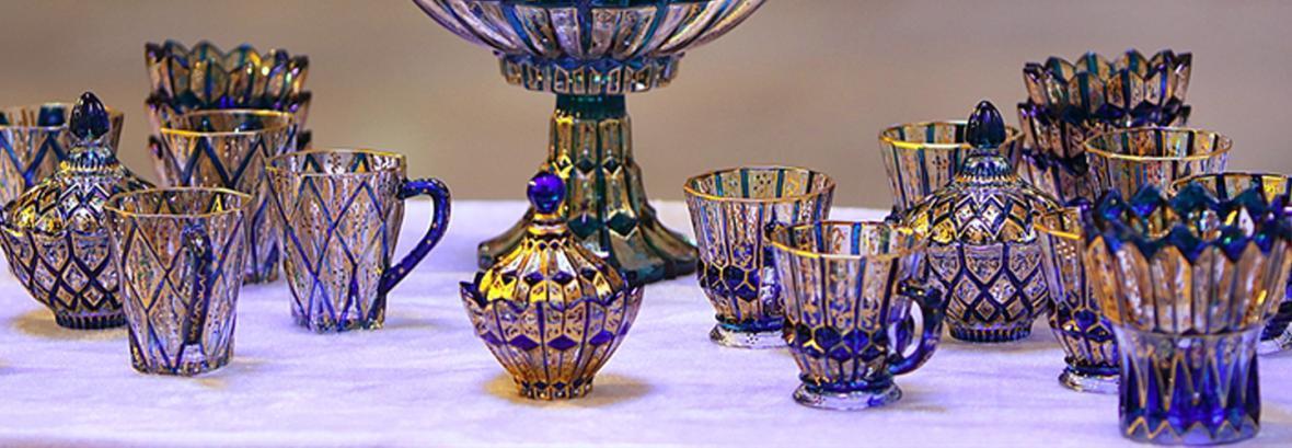 نقش رنگ روی شیشه ، عکس هایی از هنر کهن ایرانی