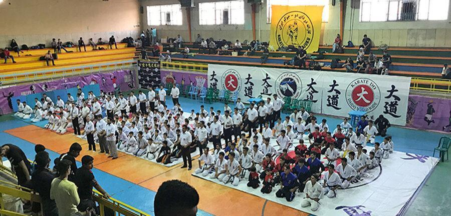 مسابقات قهرمانی کشور سبک دای دو با قهرمانی کردستان انتها یافت