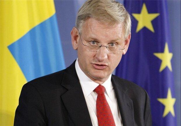واکنش سیاستمدارسوئدی به حضورظریف در جی7: اتفاقی درحال رخ دادن است