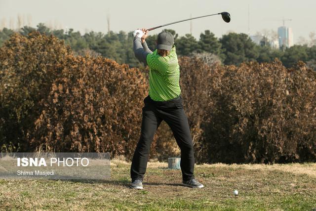 عزیزی: در تهران یک وجب زمین برای گلف نداریم!، گلف تنها رشته المپیکی فاقد زمین استاندارد است