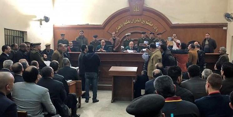 دادگاه مصر حکم اعدام شش نفر را صادر کرد