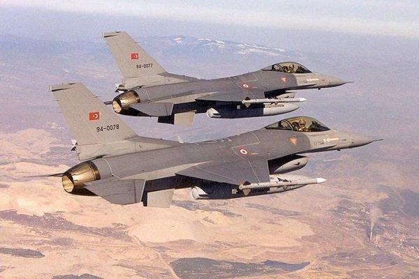 عملیات هوائی ارتش ترکیه در عراق