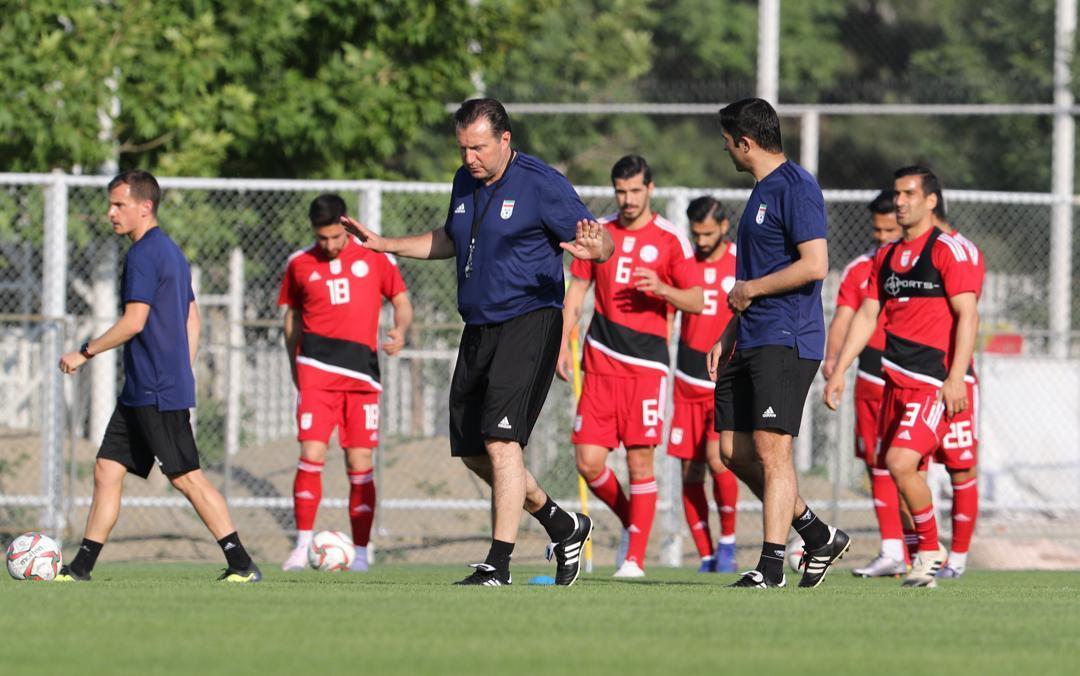 برنامه تمرینی تیم ملی فوتبال ایران اعلام شد