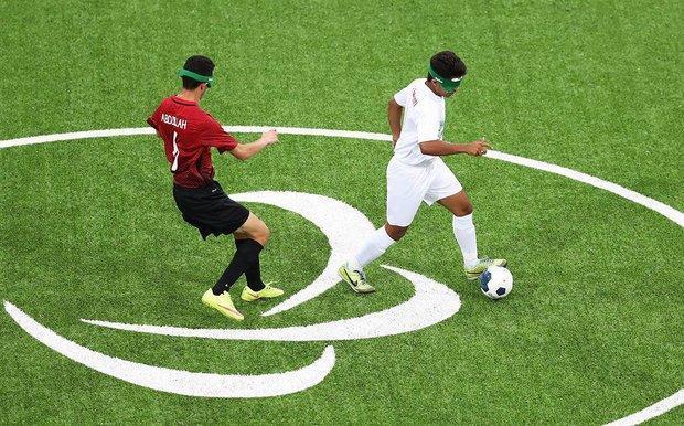 تیم فوتبال پنج نفره ایران سهمیه پارالمپیک را کسب کرد