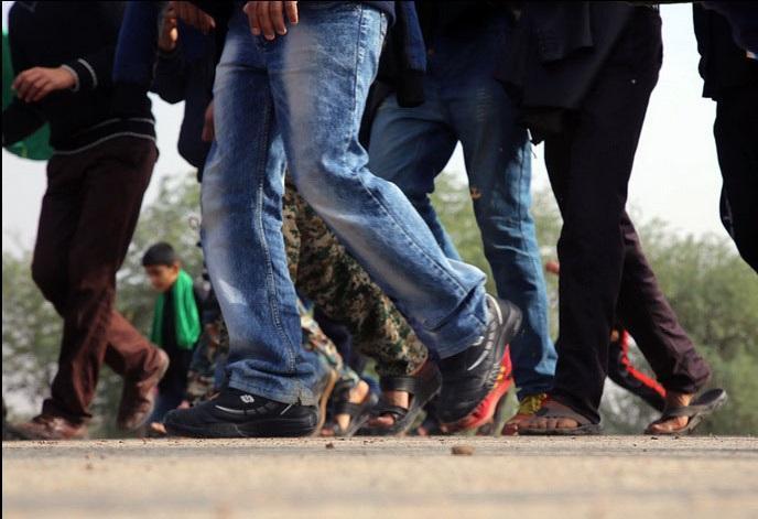 مشخصات انواع کفش پیاده روی مناسب برای پیاده روی اربعین