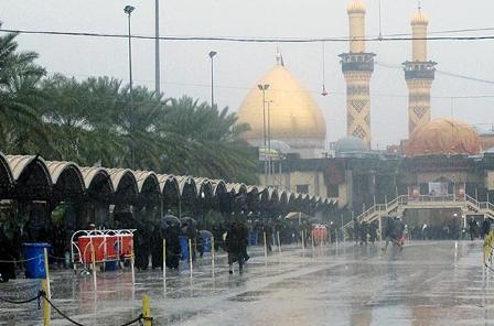 آخرین جزئیات آب و هوای راستا های مشرف به کربلا ، کاهش 2 تا 3 درجه ای دما در تهران