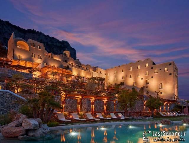 زیباترین هتل های جهان : هتل Monastero Santa Rosa در ایتالیا