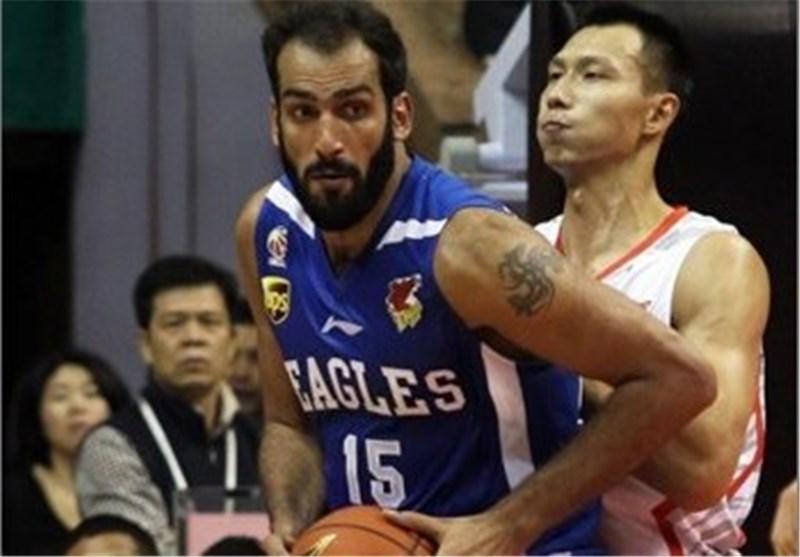 صعود یاران حدادی به رده چهارم لیگ بسکتبال چین