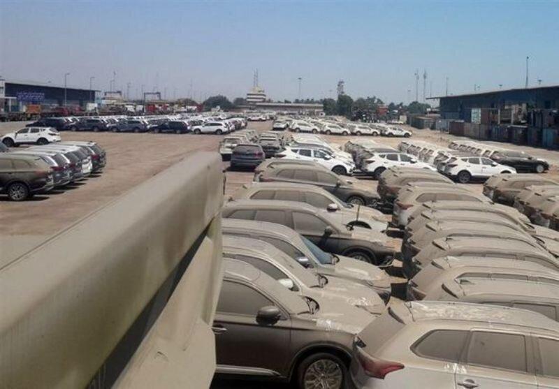 سرنوشت بیش از 4000 خودروی خارجی دپوشده در گمرک