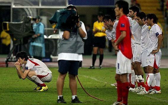 همه ضربات پنالتی جام ملت های آسیا