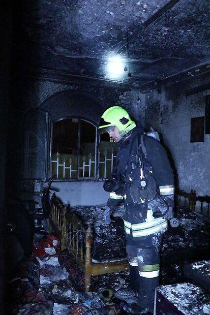 بازی کودک 4 ساله با فندک منزلی را به آتش کشید