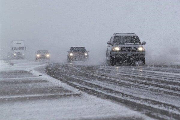 جاده ها دوباره برفی می شوند