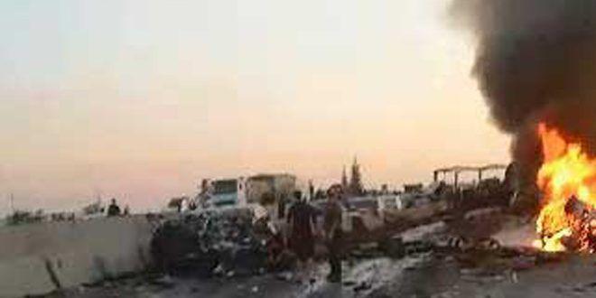 خبرنگاران تصادف در ریف دمشق 30 کشته برجا گذاشت