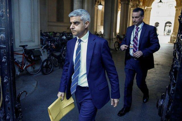 شهردار لندن: خبری از لغو قرنطینه نیست
