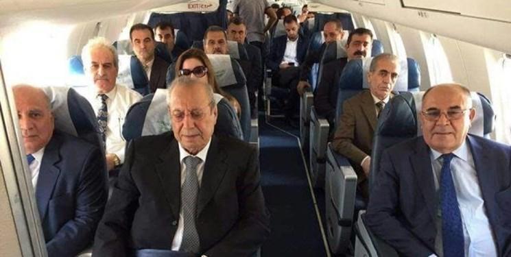 هیأت منطقه کردستان برای مذاکره درباره کابینه جدید وارد بغداد شد