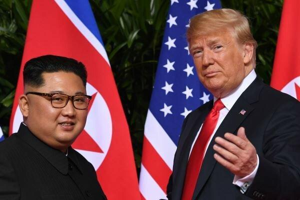 ترامپ: فکر می کنم خبر مریضی رهبر کره شمالی نادرست است