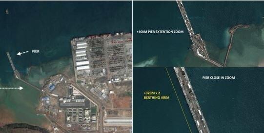 تحرکات جدید نظامی چین در خاورمیانه و اقیانوس آرام، عکس