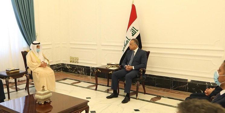 جزئیات سفر وزیر خارجه کویت به عراق و دیدار با مصطفی الکاظمی