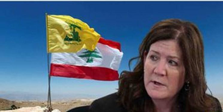 تظاهرات لبنانی ها علیه دخالت های سفیر آمریکا