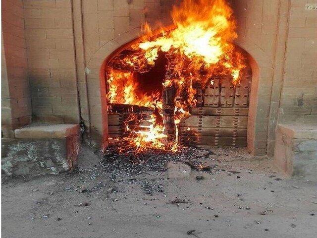 آتش سوزیِ درِخانه مرعشی عمدی بود، مضیف قربانی دعوای قبیله ای