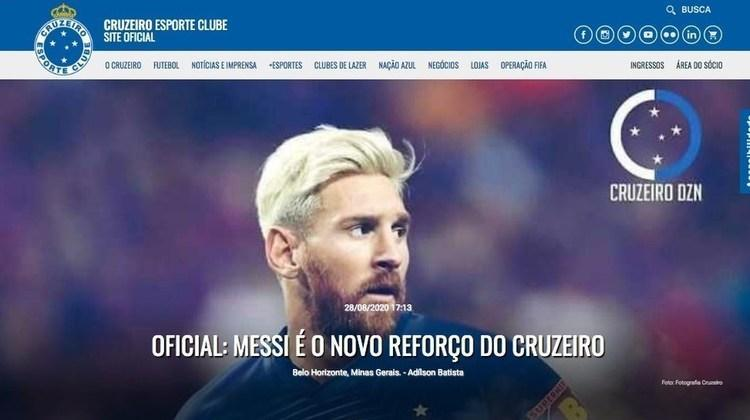 (عکس) انتقال جالب مسی به تیم برزیلی!