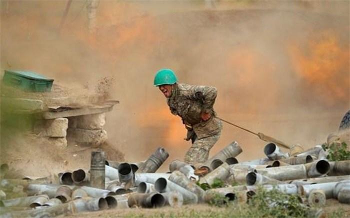 راکت های جنگ قره باغ به ایران رسید