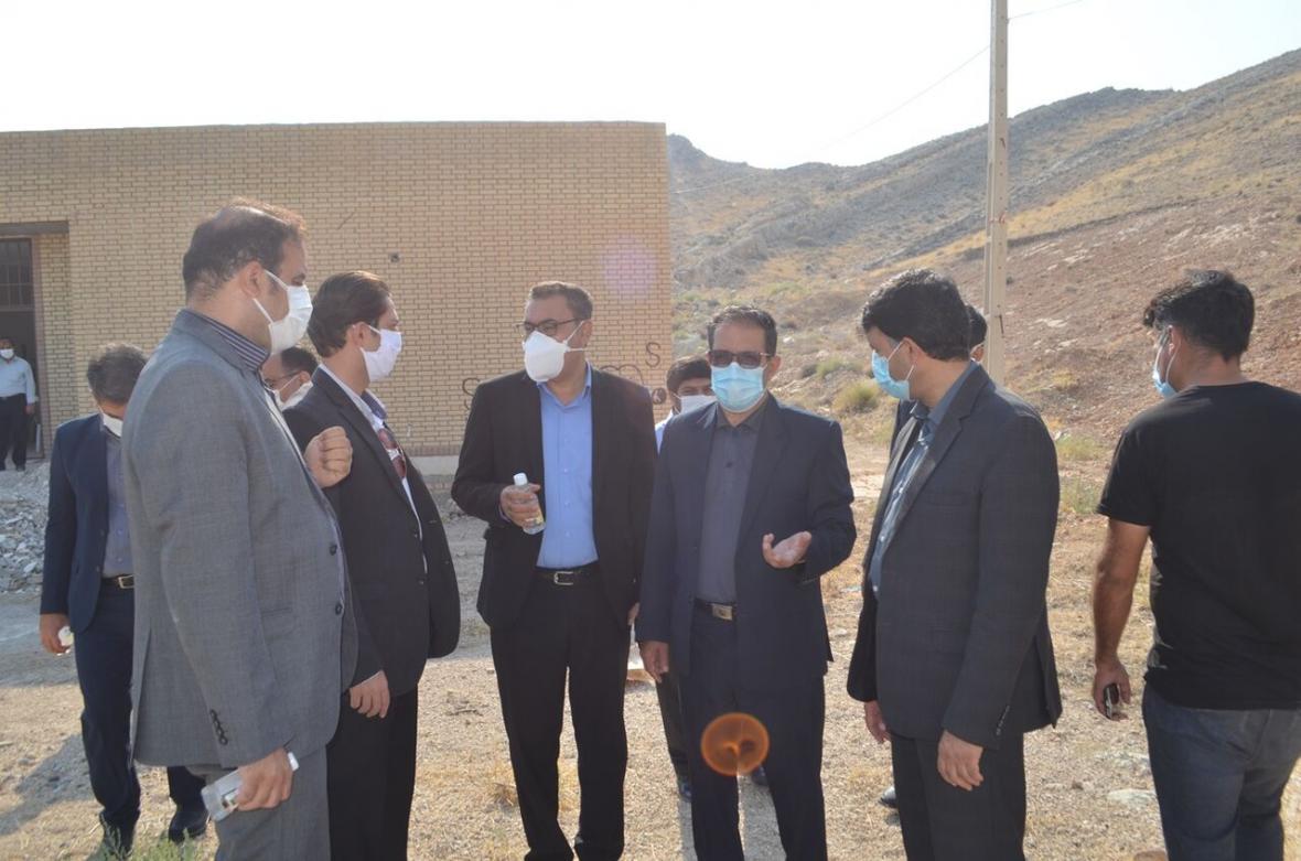 خبرنگاران عملیات ساخت خوابگاه دانشجویان فنی لارستان پس از 15 سال شتاب گرفت