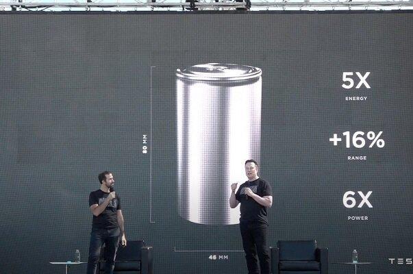 تسلا؛ فراوری باتری قدرتمند برای خودروهای برقی