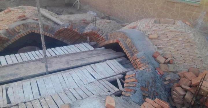 شروع فاز نخست عملیات احیا و بازسازی حمام تاریخی شیشوان در عجب شیر