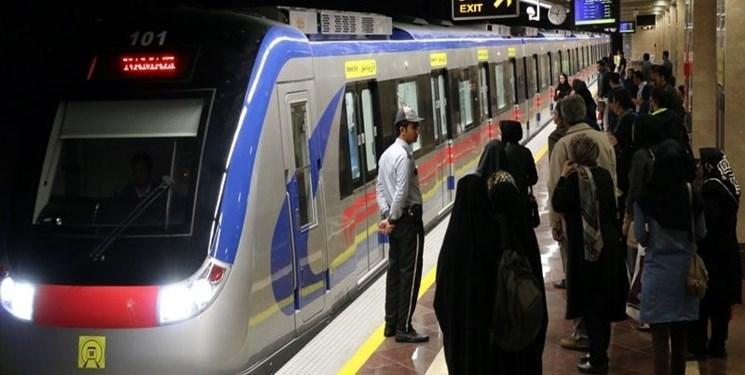 ظرفیت جابه جایی مسافر در خط 3 مترو تهران 2 برابر می گردد