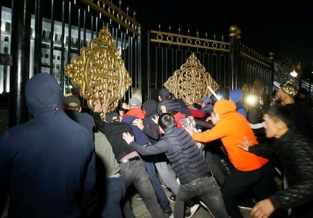 ابراز نگرانی چین از اوضاع در قرقیزستان